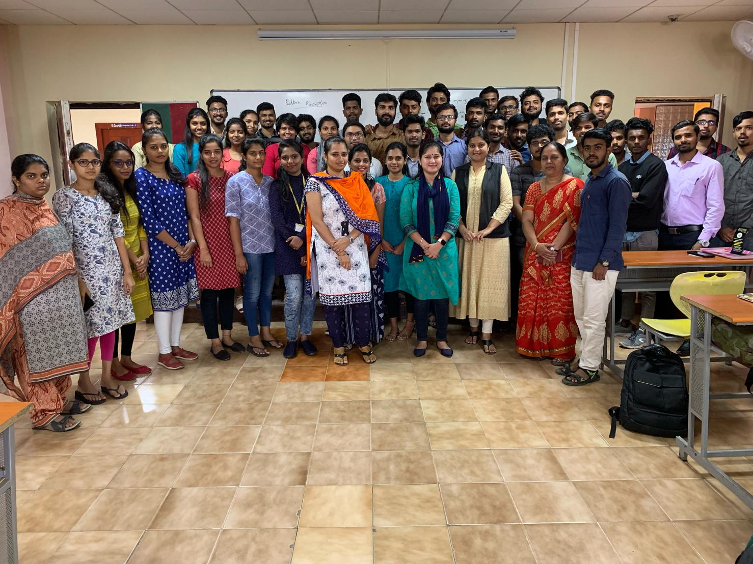 Cyber Security Awareness session at Dayananda Sagar College of Engineering
