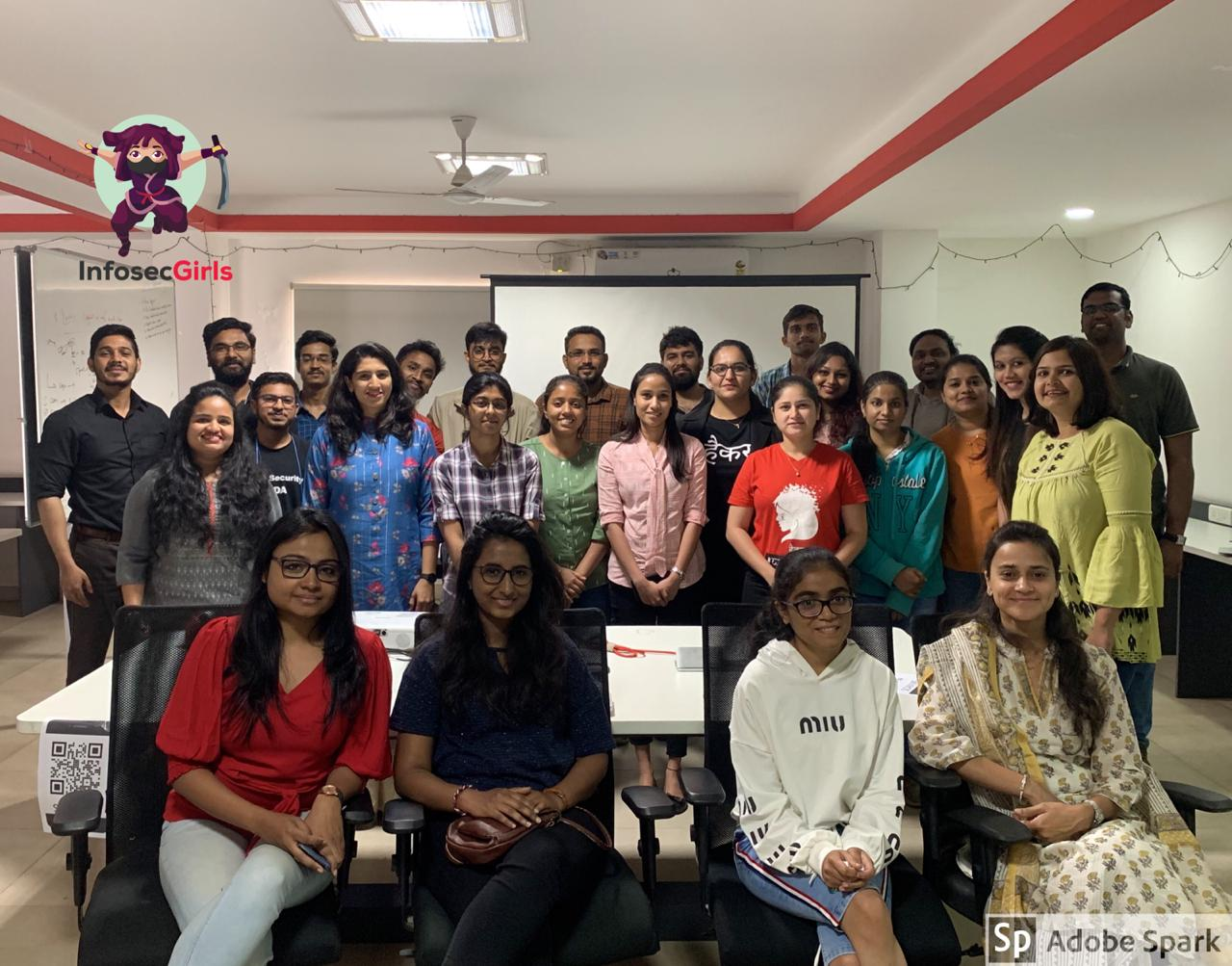 InfoSecgirls meetup in Bangalore on February 29th 2020