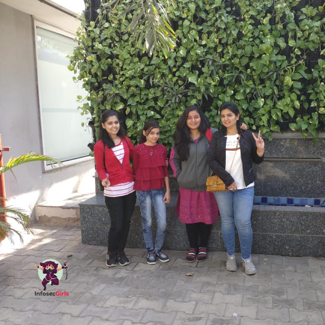 InfoSecgirls meetup in Gujarat on February 02nd 2020