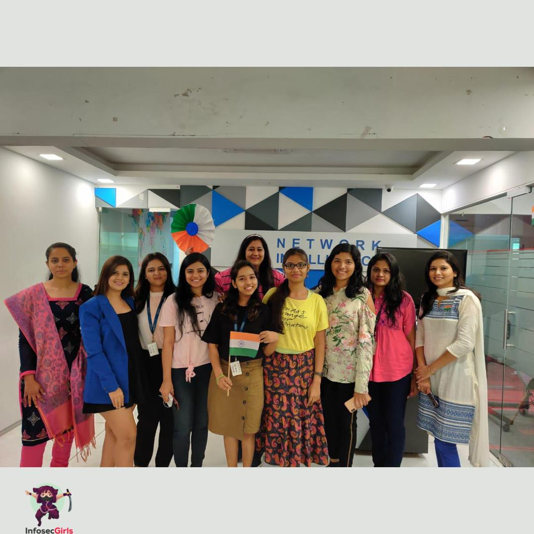 InfoSecgirls meetup in Mumbai on January 26th 2020