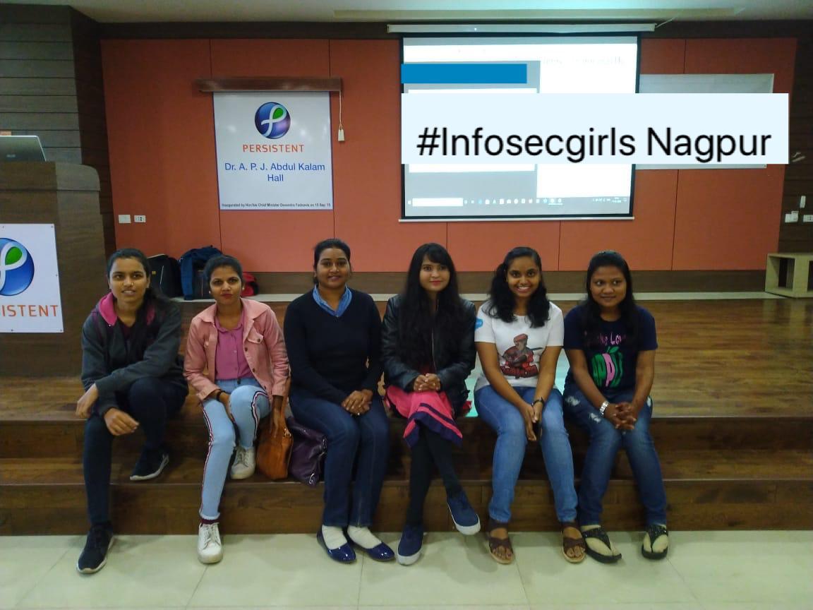 InfoSecgirls meetup at Nagpur